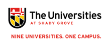The University at Shady Grove logo