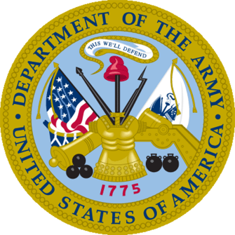Seal of the United States Department of the Army